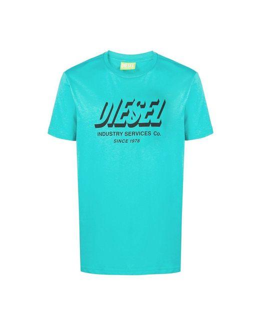 DIESEL T-shirt in het Blue voor heren