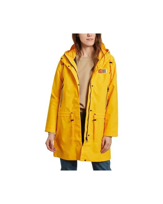 Aigle Gimiso Waterproof And Windproof Long Parka in het Yellow