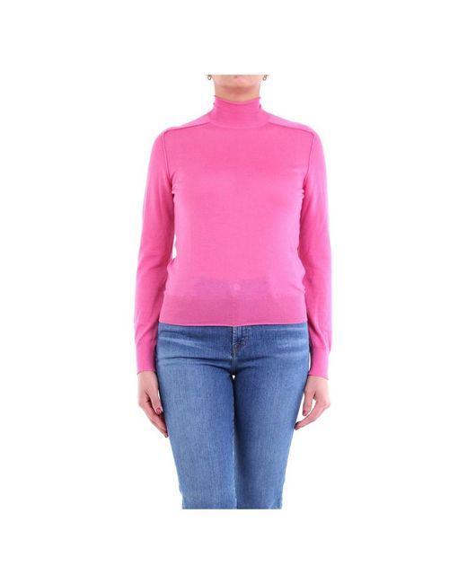 Bottega Veneta 631292vkw30 Turtleneck in het Pink