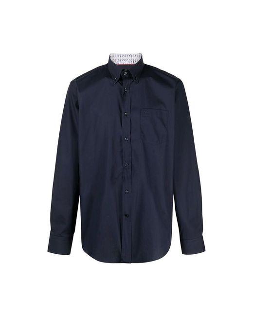 Paul & Shark Camicia Cotton in Blue für Herren