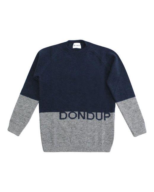 Dondup Sweater in het Blue voor heren