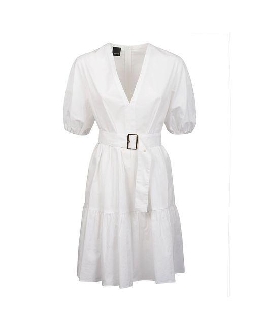 Pinko Dress in het White