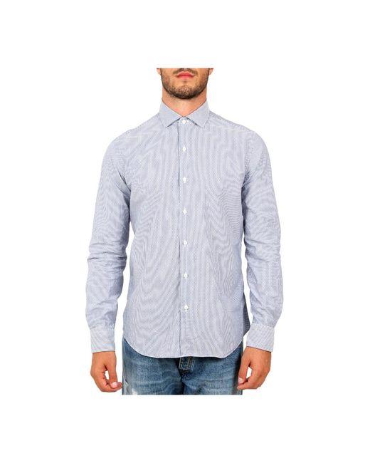 Xacus Shirt in het Blue voor heren