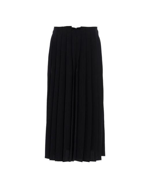 MM6 by Maison Martin Margiela Trousers in het Black