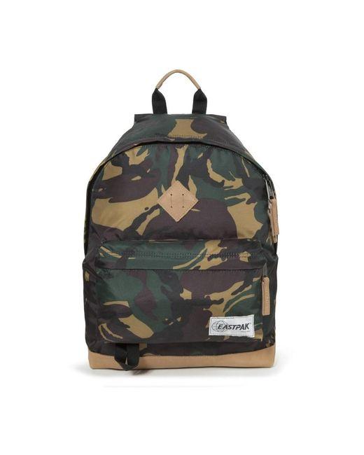 Eastpak Premium Wyoming Ek811 Backpack Unisex Adult And Guys Camo in het Green
