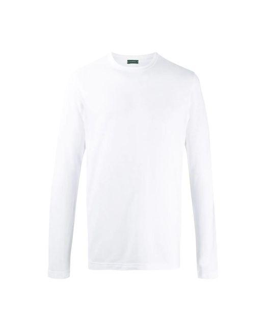 T-Shirt Zanone pour homme en coloris White