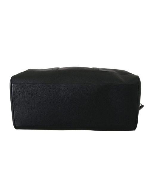 Dolce & Gabbana Shoulder Sling Travel Luggage Borse Leather Bag in het Black voor heren