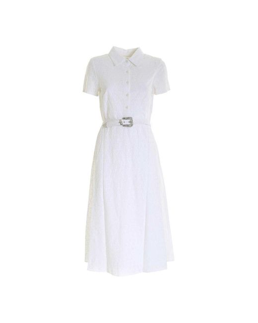 Polo Ralph Lauren 250830205 001 Dress in het White