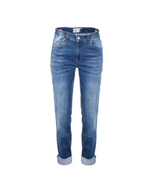 Re-hash Jeans in het Blue voor heren