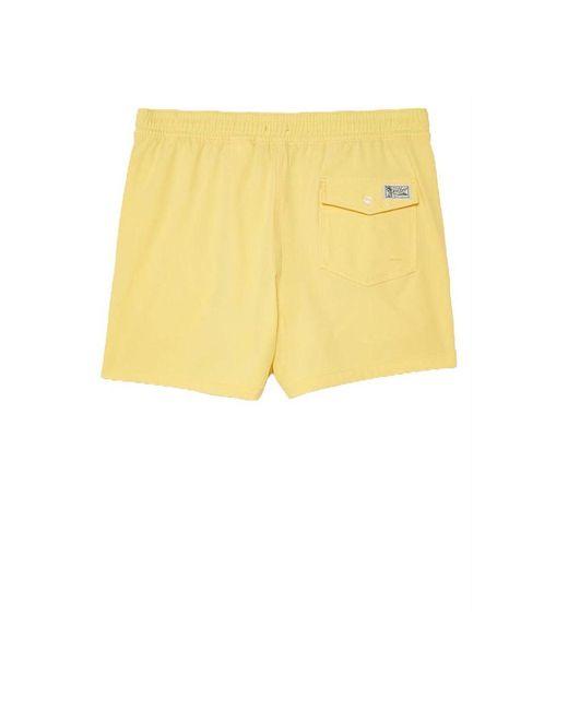 Zwembroek Amarillo Ralph Lauren de hombre de color Yellow