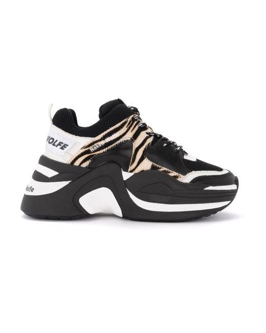 Naked Wolfe Track Sneaker in het Black