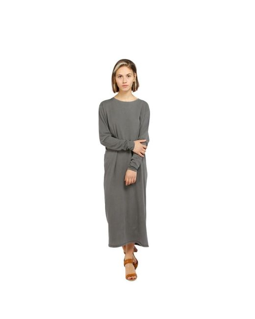 Dress Vegiflower 14C di American Vintage in Gray