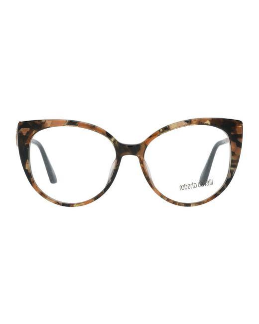 Optical Frames di Roberto Cavalli in Brown