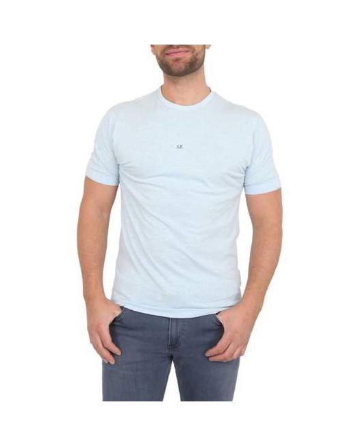C P Company T-shirt in het Blue voor heren