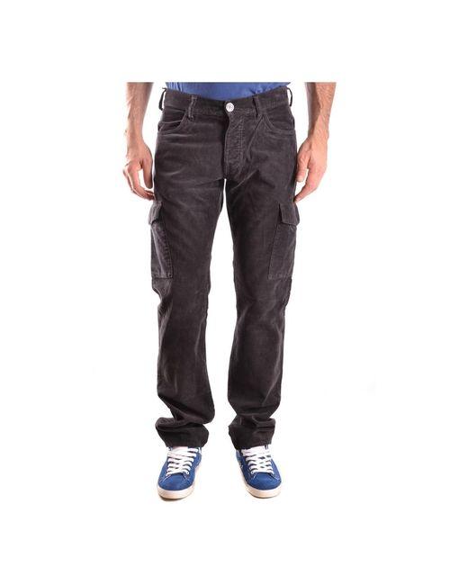 Armani Jeans Trousers in het Brown voor heren