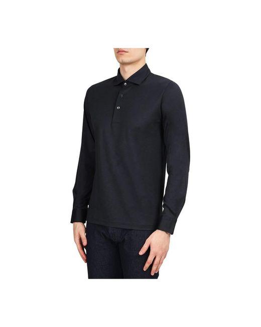Gran Sasso Polo in het Black voor heren