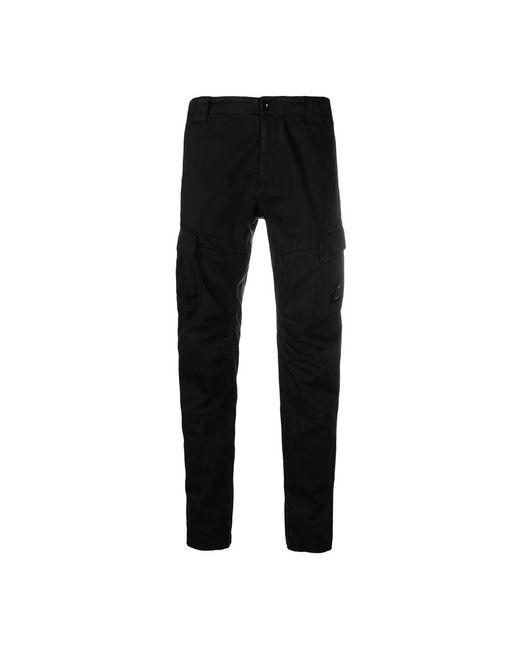 C P Company Trousers 10cmpa151a005694g in het Black voor heren