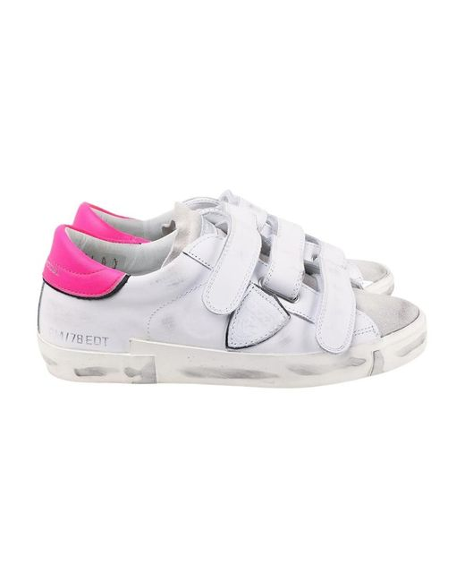 Philippe Model Veau Sneakers in het White