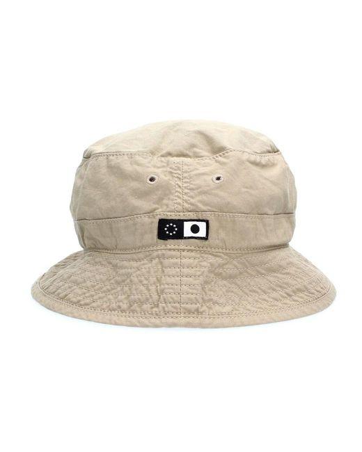 Edwin I029258 Bucket Hat Hat in het Natural voor heren