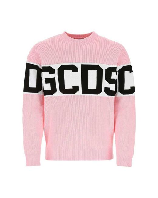 Knitwear Gcds pour homme en coloris Pink