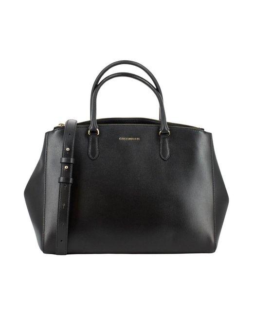 Saffiano bag Coccinelle en coloris Black