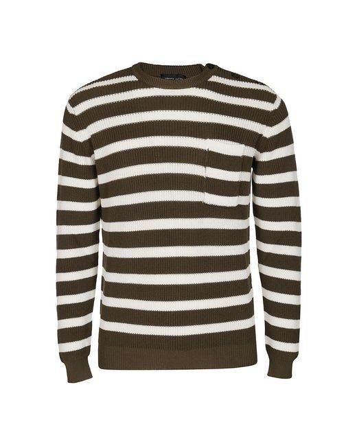Sweater Roberto Collina pour homme en coloris Green