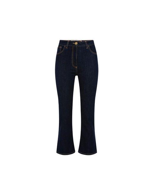 Elisabetta Franchi Jeans in het Blue