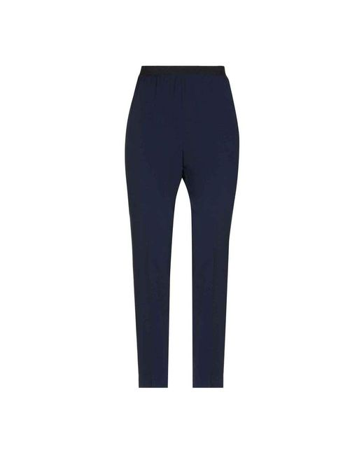 Pantalone con elastico in vita - J3314101-582 Jucca en coloris Blue