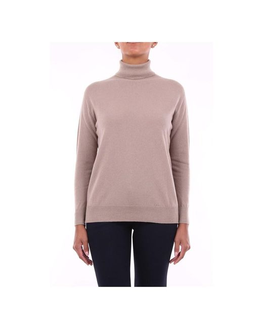 Peserico S99188f129010a High Neck in het Pink