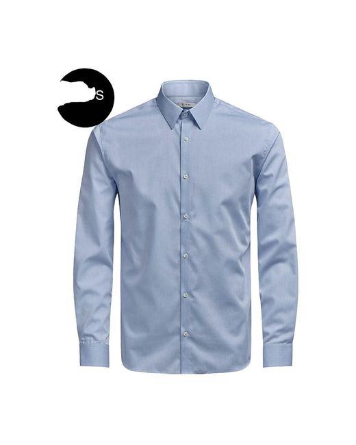 Jack & Jones Jprnon Iron Shirt in het Blue voor heren