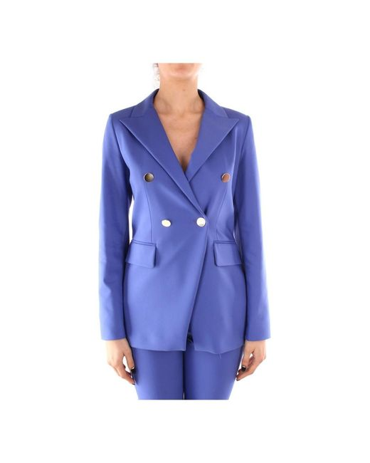 Emme Di Marella Ausonia Blazer in het Blue