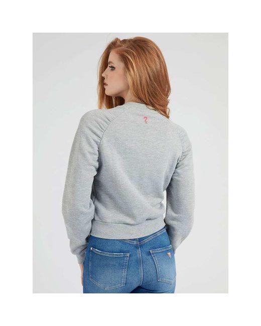 Sweatshirt Gris Guess de color Gray