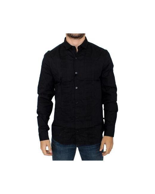 CoSTUME NATIONAL Slim Fit Shirt in het Black voor heren