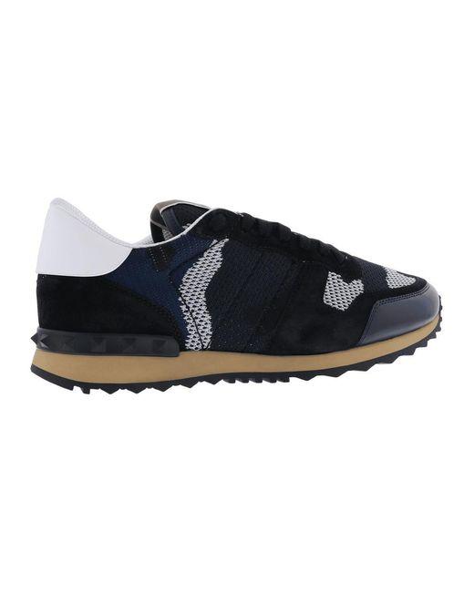Zapatillas Azul Valentino de hombre de color Blue