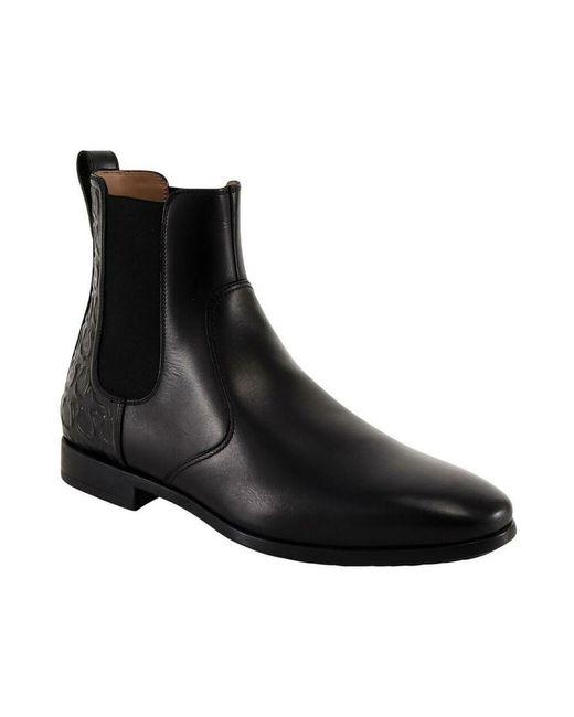Boots Negro Ferragamo de hombre de color Black