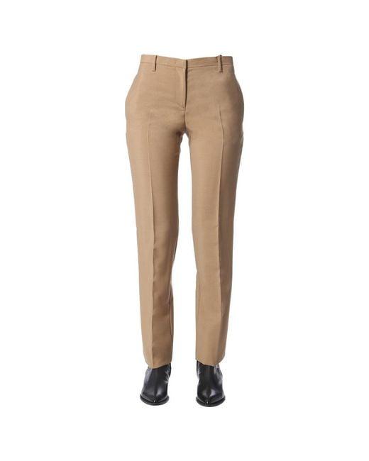 N°21 Regular Fit Pants in het Natural