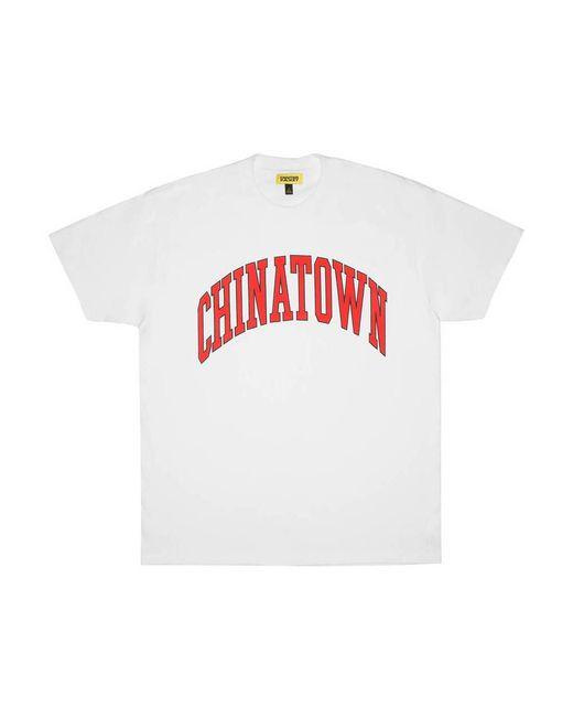 Chinatown Market Arc T-shirt in het White voor heren