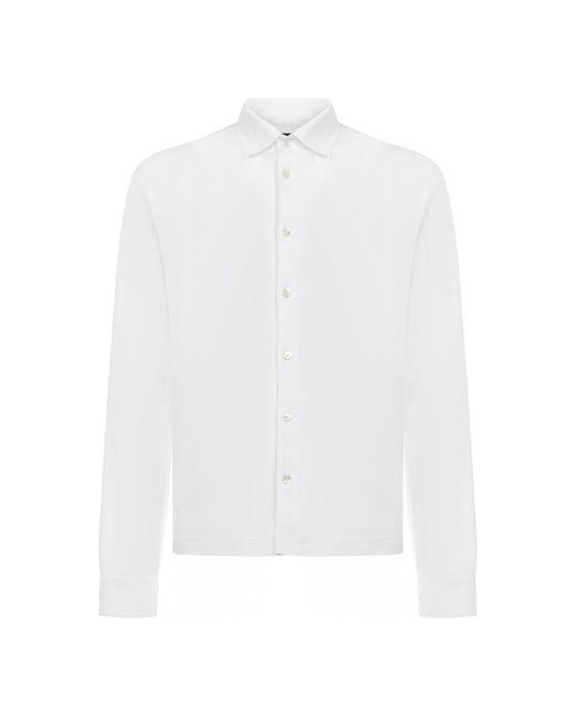Chemise Herno pour homme en coloris White
