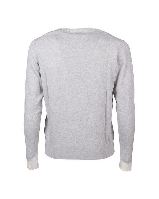 Multiyarn Sweater Gris Etro de hombre de color Gray