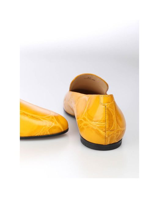 Slippers Tod's en coloris Yellow