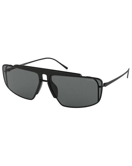 """Prada Okulary """"pr50vs"""" in het Black voor heren"""