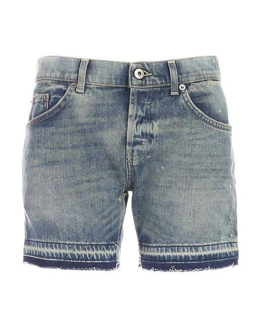 Dondup Shorts Gea in het Blue
