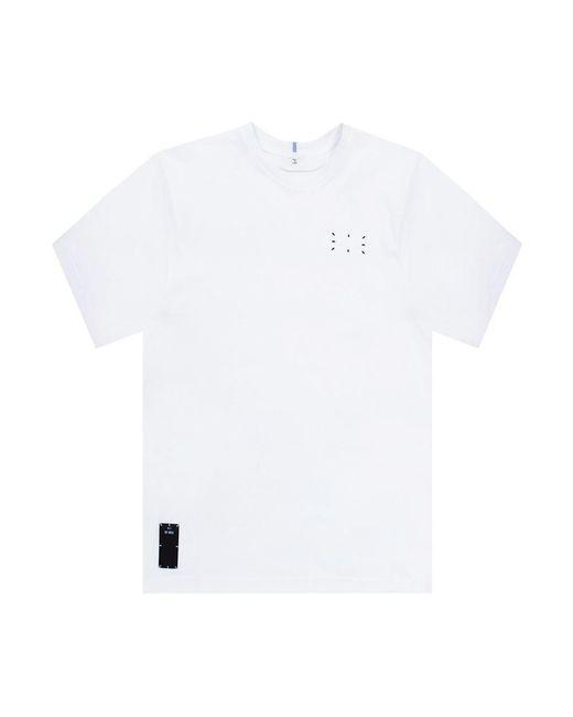 Alexander McQueen T-shirt Met Logo in het White voor heren