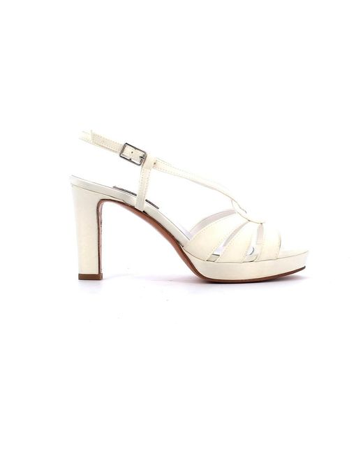 Albano Bridal Shoes 403231p20 in het White