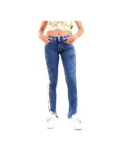 Versace Jeans A1hza08dapw6 Pants Women in het Blue