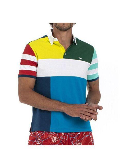 Harmont & Blaine Polo Shirt in het Blue voor heren