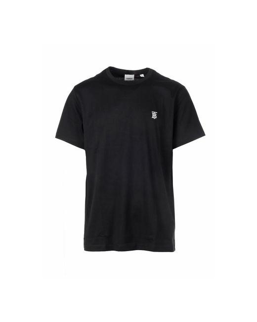 Burberry T-shirt in het Black voor heren