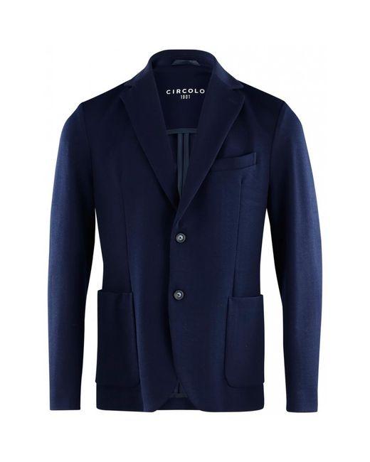 Circolo 1901 Blazer in het Blue voor heren