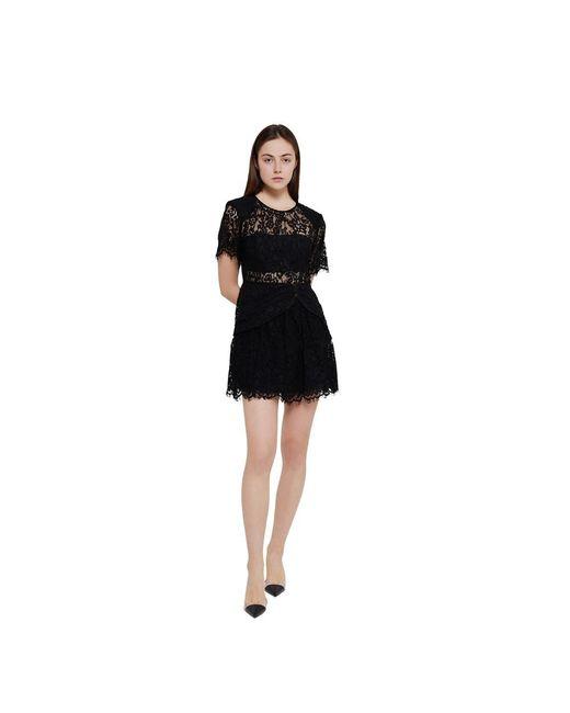 Dress Self-Portrait en coloris Black