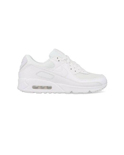 Nike 'air Max 90' Sneakers in het White voor heren